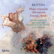 ピアノと管弦楽のための作品全集 オズボーン、ヴォルコフ&BBCスコティッシュ響