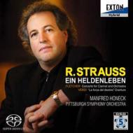 R.シュトラウス:『英雄の生涯』、ヴェルディ:『運命の力』序曲、他 ホーネック&ピッツバーグ交響楽団