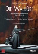 『ワルキューレ』全曲 ブロンシュウェグ演出、ラトル&ベルリン・フィル、ギャンビル、ウェストブローク、他(2007 ステレオ)(2DVD)
