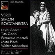 Simon Boccanegra: Rossi / Teatro San Carlo Gencer Gobbi Mazzoli