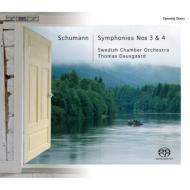 交響曲第3番『ライン』、第4番(改訂版) ダウスゴー&スウェーデン室内管弦楽団