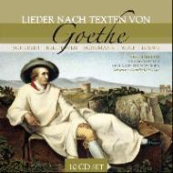 ゲーテの詩による歌曲集 シュヴァルツコップ、ホッター、ベルガー、他(10CD)