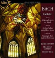 Cantata, 54, 169, 170, : J.bowman(Ct)R.king / The King's Consort