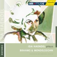 ブラームス:ヴァイオリン協奏曲、メンデルスゾーン:ヴァイオリン協奏曲 イダ・ヘンデル、ミュラー=クライ&シュトゥットガルト放送響