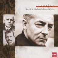 バルトーク:管弦楽のための協奏曲、弦チェレ、シベリウス:管弦楽曲集 カラヤン&ベルリン・フィル(2CD)