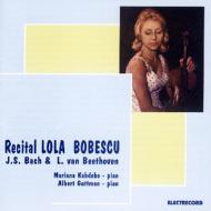 ヴァイオリン・ソナタ第3番、第4番、ほか ボベスコ(vn)、カブデボ(p)、ほか