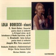 ヴァイオリン協奏曲第3番、ほか ボベスコ(vn)、イオネスコ=ガラティ&ブカレスト放送管、ほか