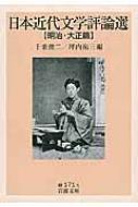 日本近代文学評論選 明治・大正篇 岩波文庫