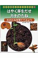 はやく芽をだせ・カキのたね 木のたねを育ててみよう 身近な植物と友だちになる本