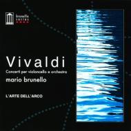 チェロ協奏曲集 ブルネロ、ラルテ・デラルコ