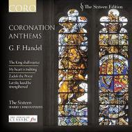ジョージ2世の戴冠式アンセム第1〜4番、他 クリストファーズ&ザ・シックスティーン