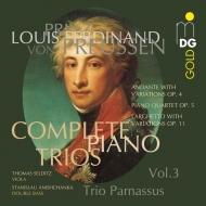 ピアノ三重奏曲全集 第3集 トリオ・パルナッスス、トマス・セルディッツ、スタニスラフ・アニシュチャンカ