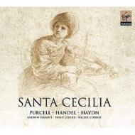 パーセル:聖チェチーリアの祝日の頌歌(パロット指揮)、ヘンデル:アレクサンダーの饗宴(レッジャー指揮)、ハイドン:聖チェチーリアのミサ(コルボ指揮)