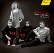 弦楽四重奏曲第60、61、62番 META4
