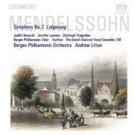 交響曲第2番『讃歌』 リットン&ベルゲン・フィル、ラーモア、プレガルディエン、他