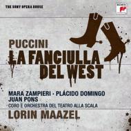 『西部の娘』全曲 マゼール&スカラ座、ザンピエーリ、ドミンゴ、他(1991 ステレオ)(2CD)