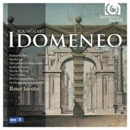 『イドメネオ』全曲 ヤーコプス&フライブルク・バロック・オーケストラ、クロフト、フィンク、他(2008 ステレオ)(3CD)
