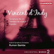 管弦楽曲集第2集(交響曲第2番、他) ガンバ&アイスランド交響楽団
