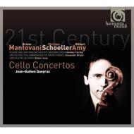 21世紀のチェロ協奏曲集(アミ、シェーラー、B.マントヴァーニ) ケラス、アミ&パリ管、ヘルビヒ&ザールブリュッケン放送響、他
