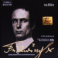 フルトヴェングラー・コンプリートRIAS レコーディングス(12CD+ボーナスCD)