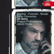 マルチヌー:チェロ協奏曲第1番、フェルステル:チェロ協奏曲、他 バールタ、フルシャ&プラハ・フィルハーモニア