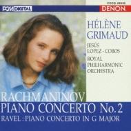 ラフマニノフ:ピアノ協奏曲第2番、ラヴェル:ピアノ協奏曲 グ…