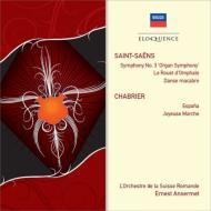 サン=サーンス:交響曲第3番、死の舞踏、シャブリエ:スペイン、他 アンセルメ&スイス・ロマンド管