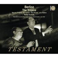 『トロイアの人々』全曲(英語・カット版) ラファエル・クーベリック&コヴェント・ガーデン王立歌劇場、シーボム、ヴィッカーズ、他(1957 モノラル)(4CD)