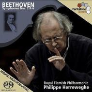 交響曲第2番、第6番『田園』 ヘレヴェッヘ&ロイヤル・フランダース・フィル