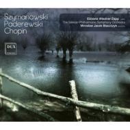 シマノフスキ:交響曲第4番『協奏交響曲』、ショパン:クラコヴィアク、他 ヴィエドネル=ザヤツ、バワシチク&シロンスク・フィル