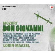 『ドン・ジョヴァンニ』全曲 マゼール&パリ・オペラ座、ライモンディ、テ・カナワ、他(1978 ステレオ)(3CD)