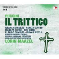 『三部作』全曲 マゼール&ニュー・フィルハーモニア管、スコット、ドミンゴ、他(1976−77 ステレオ)(3CD)