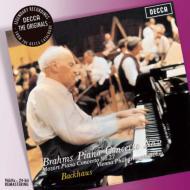 ブラームス:ピアノ協奏曲第2番、モーツァルト:ピアノ協奏曲第27番 バックハウス、ベーム&ウィーン・フィル