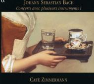 バッハ:さまざまな楽器による協奏曲集1(BWV1042・1050・1052・1055R) カフェ ツィマーマン