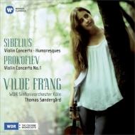 シベリウス:ヴァイオリン協奏曲、プロコフィエフ:ヴァイオリン協奏曲第1番、他 フラング、セナゴー&ケルン放送響