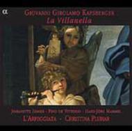 カプスベルガー 17世紀ローマのテオルボの名手〜器楽・声楽作品集 ラルペッジャータ/ピーノ・デ・ヴィットリオ