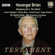 交響曲第1番『ゴシック』 エードリアン・ボールト&BBC交響楽団(2CD)