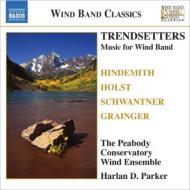 ヒンデミット:交響曲、ホルスト:組曲第1番、グレインジャー:リンカンシャーの花束、他 ピーボディ音楽院ウィンド・アンサンブル