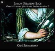 J.S.バッハ:さまざまな楽器による協奏曲集2(Alpha1043・1048・1060R・1066) カフェ・ツィマーマン