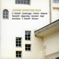 ブランデンブルク協奏曲第6番、ヴァイオリン・ソナタ第5番、他 テツラフ、フォークト、ツィパーリング、他