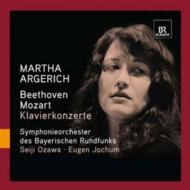 ベートーヴェン:ピアノ協奏曲第1番(小澤征爾指揮)、モーツァルト:ピアノ協奏曲第18番(ヨッフム指揮) アルゲリッチ、バイエルン放送響