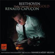 ベートーヴェン:ヴァイオリン協奏曲、コルンゴルト:ヴァイオリン協奏曲 R.カプソン、ネゼ=セガン&ロッテルダム・フィル