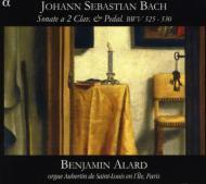 J.S.バッハ:オルガン独奏のための6つのトリオ・ソナタ BWV525-530 バンジャマン・アラール