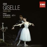 アダン:『ジゼル』全曲(T.カーン&ロンドン・フェスティヴァル・バレエ管)、ミンクス:『ラ・バヤデール』第4幕(ランチベリー指揮)(2CD)