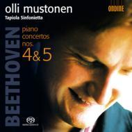ピアノ協奏曲第4番、第5番『皇帝』 ムストネン&タピオラ・シンフォニエッタ