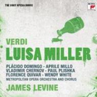 『ルイーザ・ミラー』全曲 レヴァイン&メトロポリタン歌劇場、ドミンゴ、ミッロ、他(1991 ステレオ)(2CD)