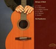 Strings Of Steel-telemann, Brescianello, Bach: Paulikovics