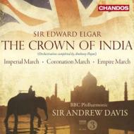 インドの王冠(ペイン補筆完成版)、帝国行進曲、戴冠式行進曲、イギリス帝国行進曲、他 A.デイヴィス&BBCフィル(2CD)
