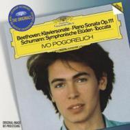 ベートーヴェン:ピアノ・ソナタ第32番、シューマン:交響的練習曲、ショパン:練習曲集、夜想曲第16番 ポゴレリチ