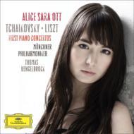 チャイコフスキー&リスト:ピアノ協奏曲第1番 アリス=紗良・オット、ヘンゲルブロック&ミュンヘン・フィル